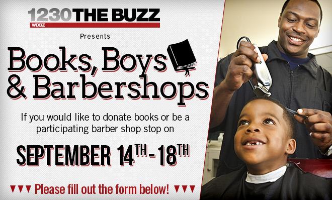 Books, Boys & Barbershops