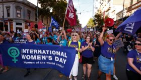 Thousands Of Australians March For Change On International Women's Day
