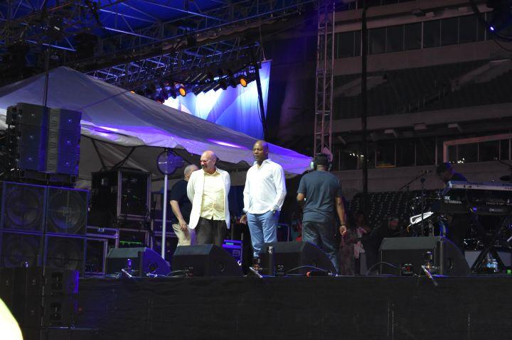 Tom Joyner at the Cincinnati Music Festival