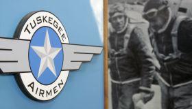 Tuskegee Airmen logo.