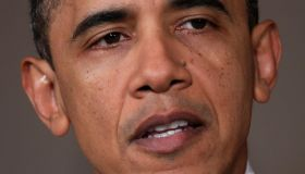 President Obama Delivers Statement On Libya